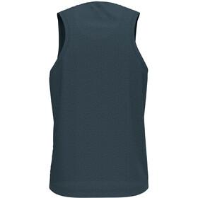 Odlo BL Millennium Element V-hals mouwloos shirt Heren, dark slate melange